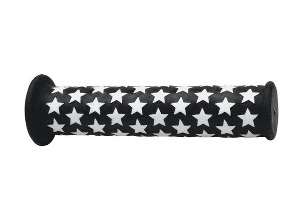 All-City BMX Star Grips Color: Black/White