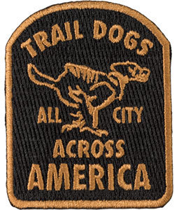 All-City Trail Dogs Patch Color: Brown