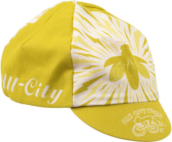 All-City Y'All-City Cycling Cap Color: Natural/Gold