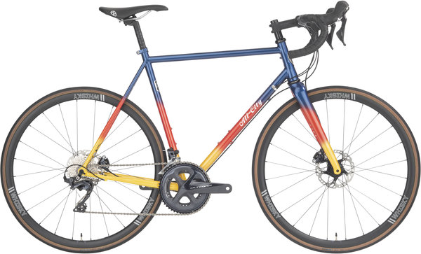 All-City Zig Zag Ultegra Color: Sunset Glow