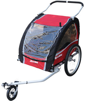 Allen Aluminum 2 Child Trailer/Jogger