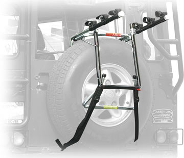 Allen Deluxe 3-Bike Spare Tire Carrier