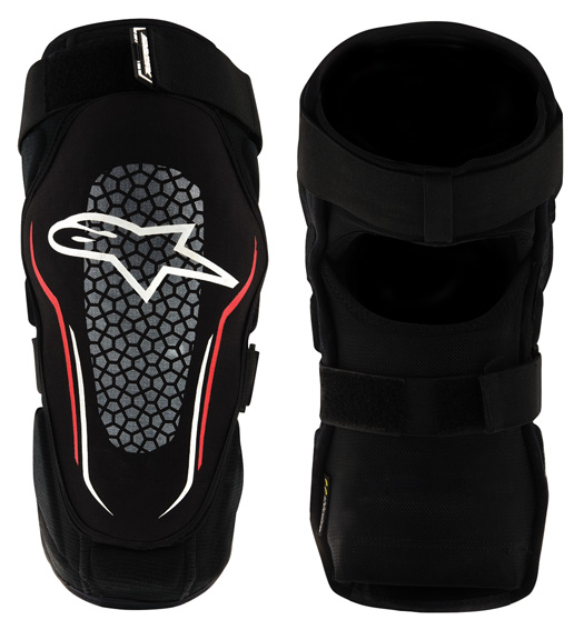 Alpinestars Alps 2 Knee Guard Color: Black/White/Red