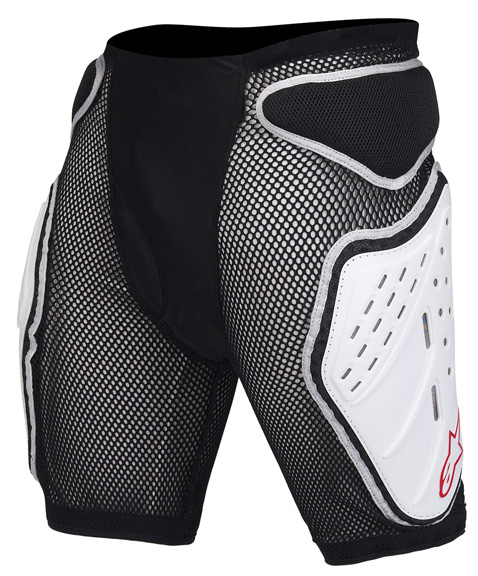 Alpinestars MTB Bionic Shorts Color: Black/White