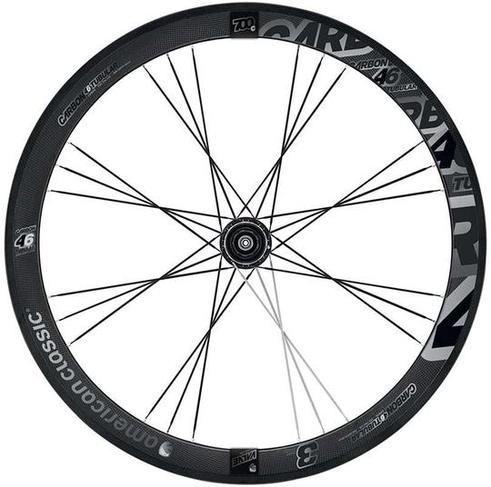 American Classic Carbon 46 Tubular Wheelset