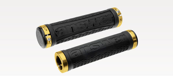 Answer Products Fall Line XC Grips Color: Black Gold