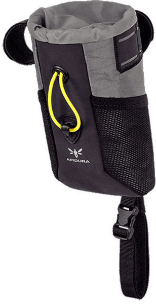 Apidura Backcountry Food Pouch Plus Color | Gear Capacity: Grey/Yellow | 0.8L