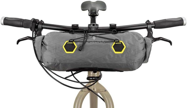 Apidura Backcountry Handlebar Pack Image differs from actual product (bike sold separately)