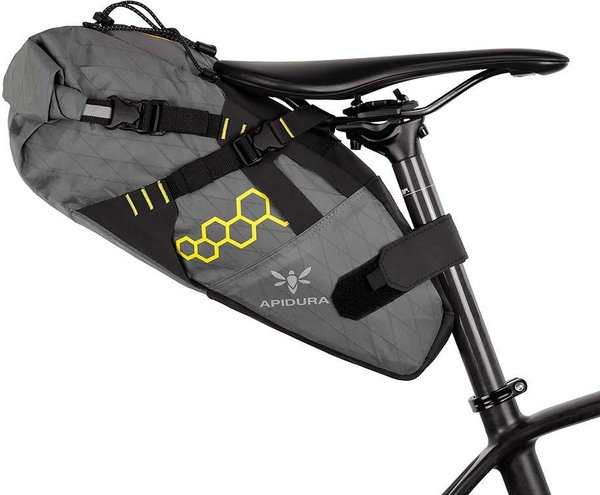 Apidura Backcountry Saddle Pack Image differs from actual product (bike sold separately)