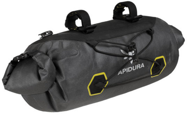 Apidura Expedition Handlebar Pack Color: Grey/Yellow