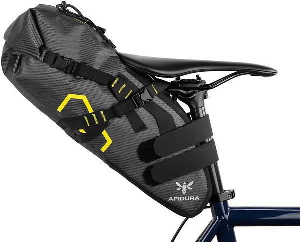 Apidura Expedition Saddle Pack Image differs from actual product (bike sold separately)