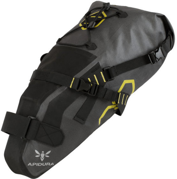 Apidura Expedition Saddle Pack Color | Gear Capacity: Grey/Yellow | 9L