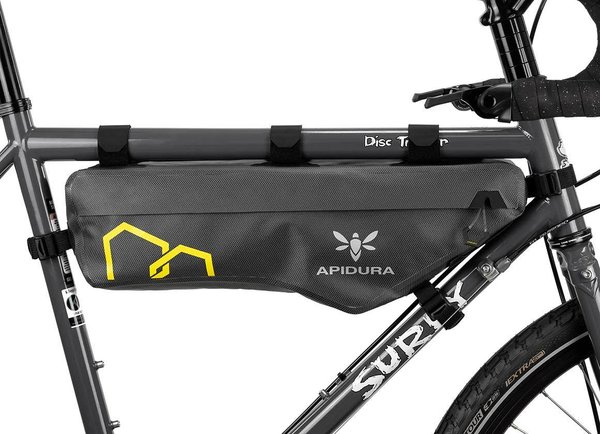 Apidura Expedition Frame Pack Color | Gear Capacity | Size: Grey/Black | 4.5L | Compact