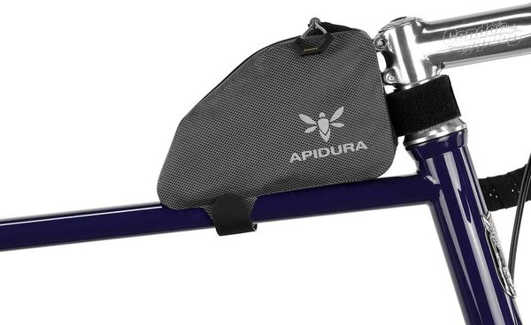 Apidura Expedition Top Tube Pack Color | Gear Capacity: Grey/Black | 0.5L