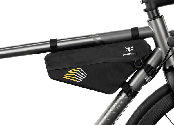 Apidura Racing Frame Pack Image differs from actual product (bike sold separately)