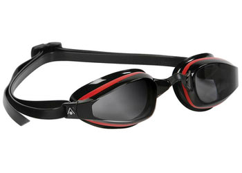 Aqua Sphere K-180 Goggle Color | Lens: Red/Black | Smoke