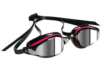 Aqua Sphere K-180 Lady Goggle Color | Lens: Pink/Black | Mirrored