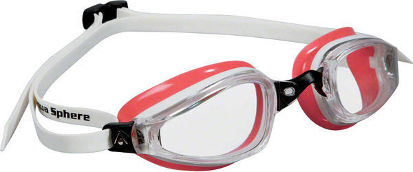 Aqua Sphere K-180 Lady Goggle Color | Lens: White/Coral | Clear