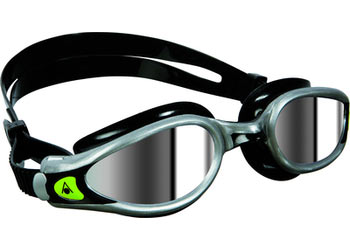 Aqua Sphere Kaiman Exo Goggle Color | Lens: Silver/ Black | Mirrored