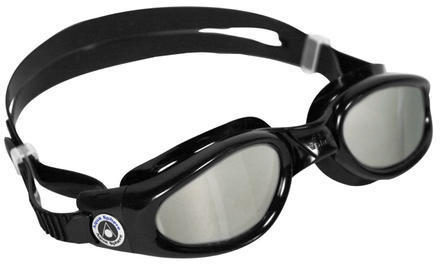 Aqua Sphere Kaiman Goggle Color | Lens: Black | Mirrored