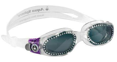 Aqua Sphere Kaiman Lady Goggle Color | Lens: Translucent/Purple | Smoke