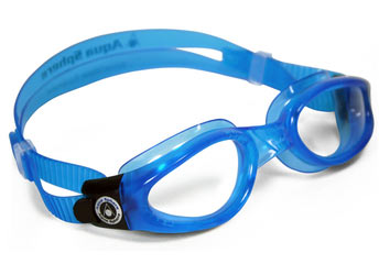 Aqua Sphere Kaiman Small Fit Goggle Color | Lens: Blue | Clear