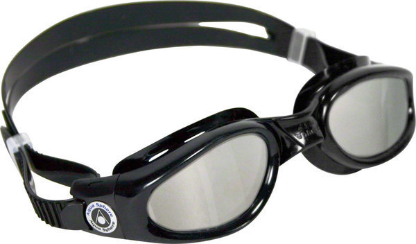 Aqua Sphere Kaiman Small Fit Goggle Color | Lens: Black | Mirrored