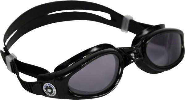 Aqua Sphere Kaiman Small Fit Goggle Color | Lens: Black | Smoke