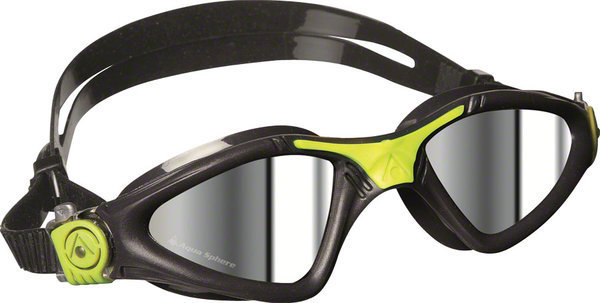Aqua Sphere Kayenne Goggle Color | Lens: Grey/Lime Accents | Mirrored