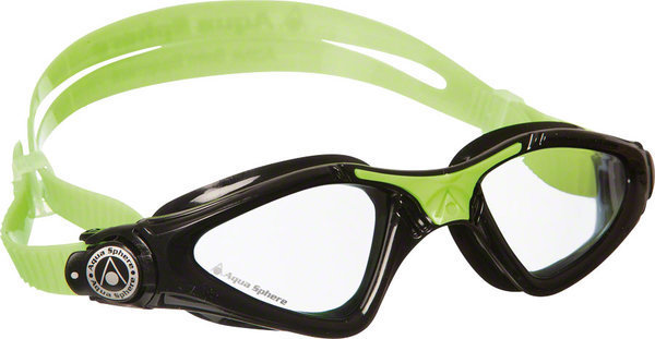 Aqua Sphere Kayenne Jr. Goggle Color | Lens: Black/Lime Accent | Clear