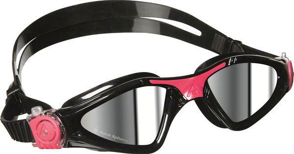 Aqua Sphere Kayenne Lady Goggle Color | Lens: Black/Pink Accents | Mirrored