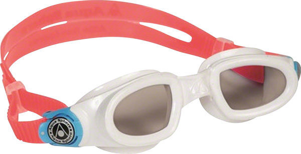 Aqua Sphere Moby Kid Goggle Color | Lens: White w/Baia Buckle | Smoke