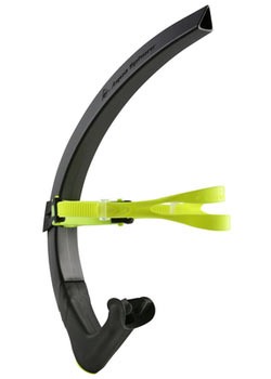 Aqua Sphere MP Focus Swim Snorkel Color: Black/Neon