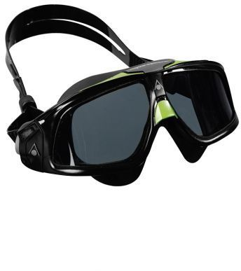 Aqua Sphere Seal 2.0 Mask Color | Lens: Black/Green Accent | Smoke