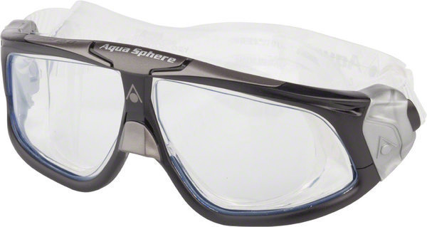 Aqua Sphere Seal 2.0 Mask Color | Lens: Black/Silver Accent | Clear