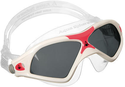 Aqua Sphere Seal XP 2 Lady Mask Color | Lens: White/Coral Accents | Smoke