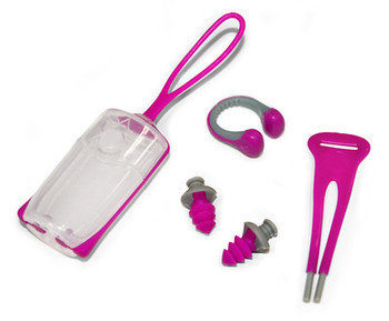 Aqua Sphere Silicone Ear Plugs And Nose Clip