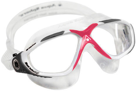 Aqua Sphere Vista Ladies Mask Color | Lens: White/Gray/Coral | Clear