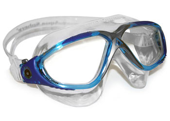Aqua Sphere Vista Mask Color | Lens: Trans/Aqua/Blue/Gray | Clear