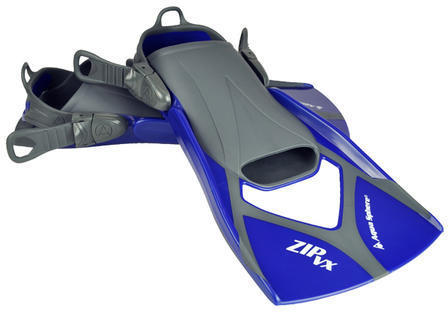 Aqua Sphere Zip VX Fins Color: Blue/Gray