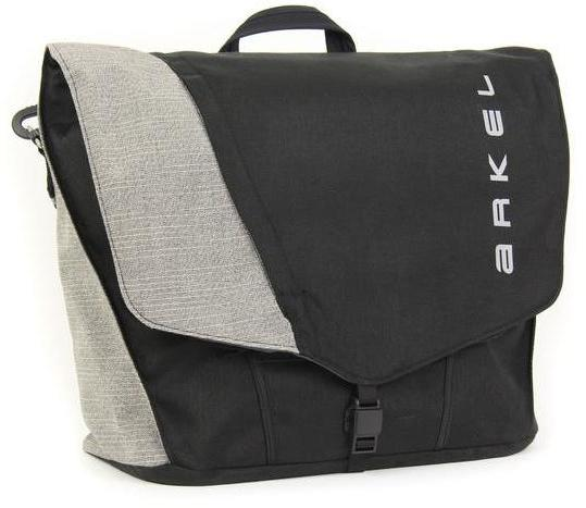 Arkel Briefcase Urban Pannier Color: Black/Grey