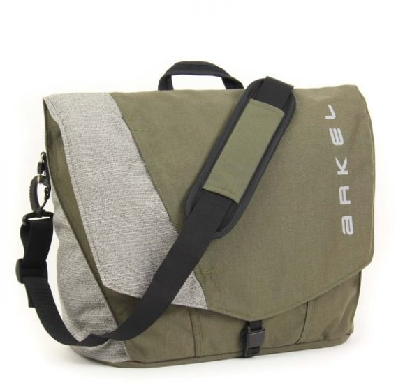 Arkel Briefcase Urban Pannier Color: Olive/Grey