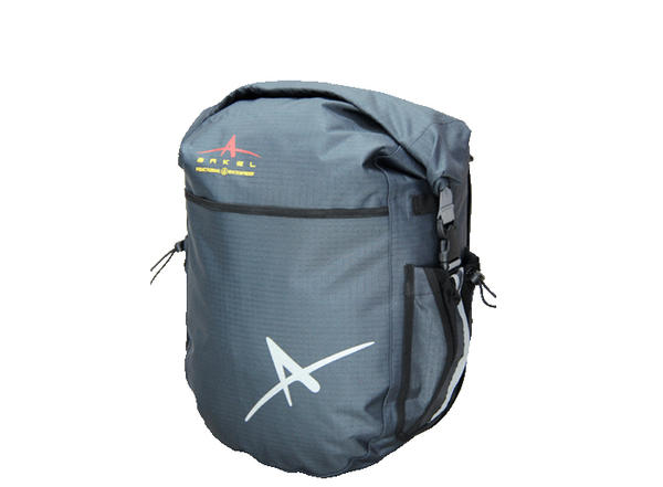Arkel Dolphin 32 Waterproof Bike Panniers (Pair) Color: Gray