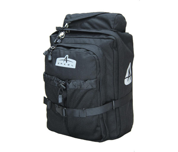Arkel GT-18 Backpack Pannier Combo (Unit) Color: Black