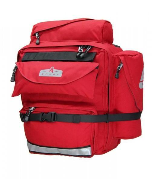 Arkel GT-54 Classic Cycling Bags (Pair) Color: Red
