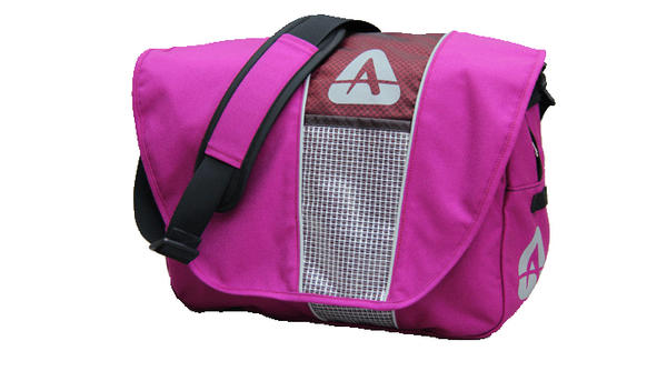 Arkel Messenger Briefcase Pannier Color: Fuschia