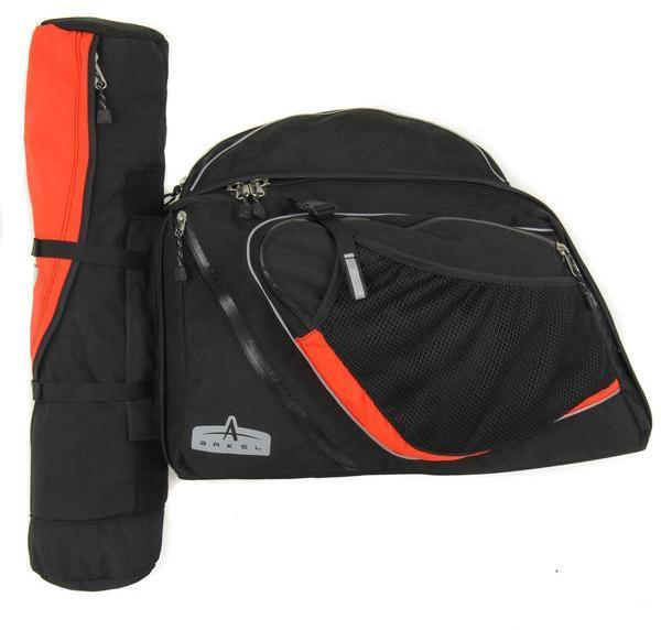 Arkel RT-60 Recumbent Panniers (Pair) Color: Black/Orange