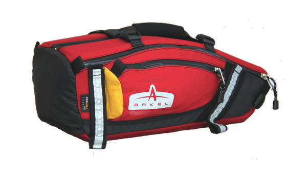 Arkel Tailrider Bike Trunk Bag Color: Red