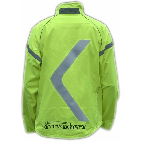 ArroWhere Hi-Viz Waterproof Jacket