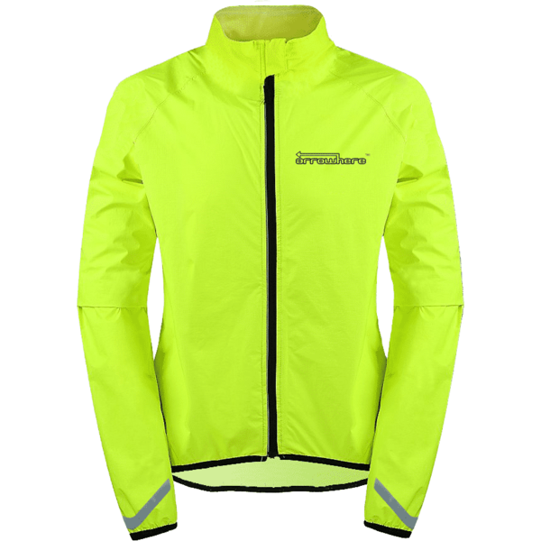 ArroWhere Lightweight Jacket Color: Day Glo Yellow